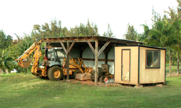 Farm sheds (tractor not included)