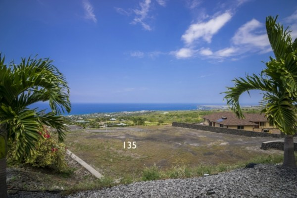 Kona Vistas Subdivision lot 12 (parcel 135). Close to town and all amenities.