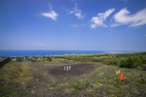 Kona Vistas Subdivision lot 14 (parcel 137). Close to town and all amenities.