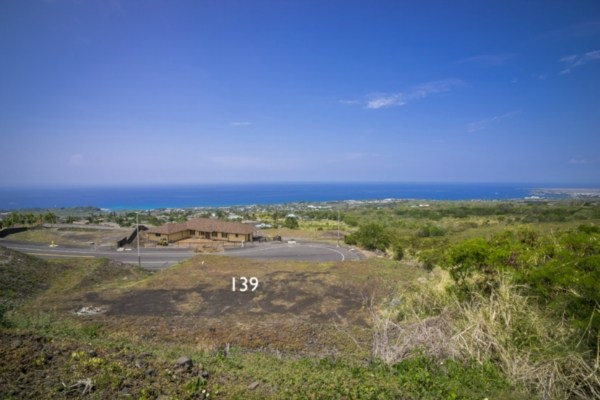 Kona Vistas Subdivision lot 16 (parcel 139). Close to town and all amenities.