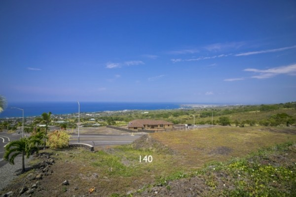 Kona Vistas Subdivision lot 17 (parcel 140). Close to town and all amenities.