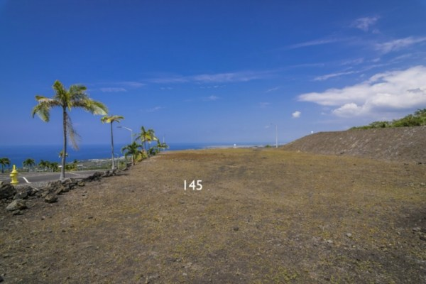 Kona Vistas Subdivision lot 22 (parcel 145). Close to town and all amenities.