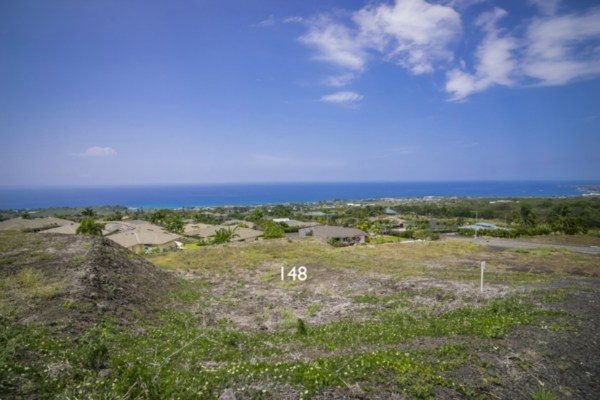 Kona Vistas Subdivision lot 25 (parcel 148). Close to town and all amenities.