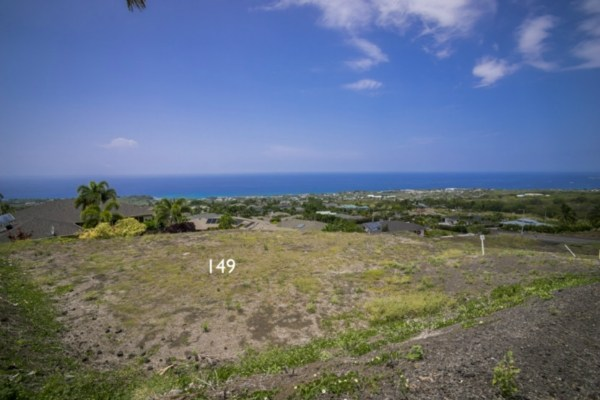 Kona Vistas Subdivision lot 26 (parcel 149). Close to town and all amenities.