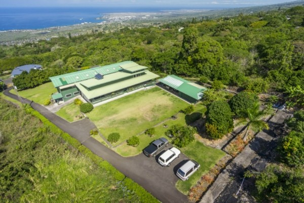 Panoramic ocean view from this large home on 2.2580 acres of fee simple land. This home consists of 4 bedrooms, 4 baths, 1 laundry room, and a 2 car carport. There is a wet bar on the open air lanai and a gazebo in the yard.