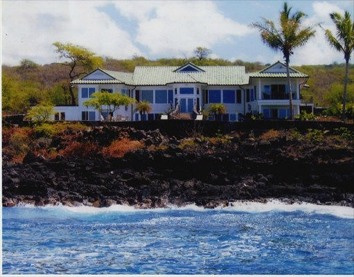 Keauhou Ocean Front Home For Sale