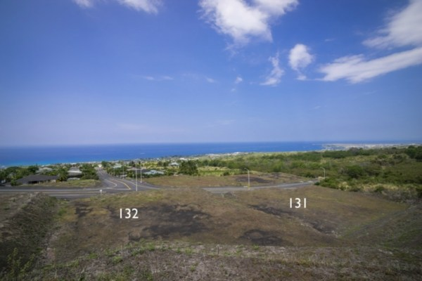 Kona Vistas Subdivision lot 8 (parcel 131). Close to town and all amenities.