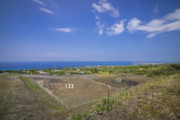 Kona Vistas Subdivision lot 10 (parcel 133). Close to town and all amenities.