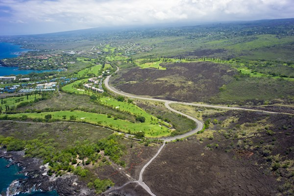 There are 2 TMKs included in this sale 3-7-9-5-14 (59.40 Acres) and 3-7-9-5-04 (33,846 Sq. Ft.). The 59.40 Acre parcel is bordered by the upscale subdivision of Hokulia and the Keauhou Resort Area. The 33,846 Sq. Ft. parcel is an oceanfront site below the Hokulia Bypass Road.
