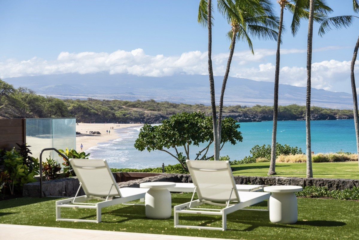 INTRODUCING HAWAII'S MOST EXTRAORDINARY BEACHFRONT RESIDENCES ON HAPUNA BEACH AT THE BELOVED MAUNA KEA RESORTLet nothing come between you and the sea, sand and sky. Let nothing come between you and the legendary destination that created and has defined island luxury for generations. A rare and historic opportunity to own what may be the last beachfront residences in the world so magnificently located.This beachy contemporary residence features a private pool, European Oak wood flooring, high-end appliances such as Wolf stove/oven/microwave, Sub-Zero fridge, Miele dishwasher, Maytag front-load washer/dryer and upscale fixtures. B15 is one of the three 4-bay units and the last ground floor 4-bay unit with a pool.Do not miss this rare opportunity to own this one-of-a-kind residence steps away from one of the best white sand beaches in the world!