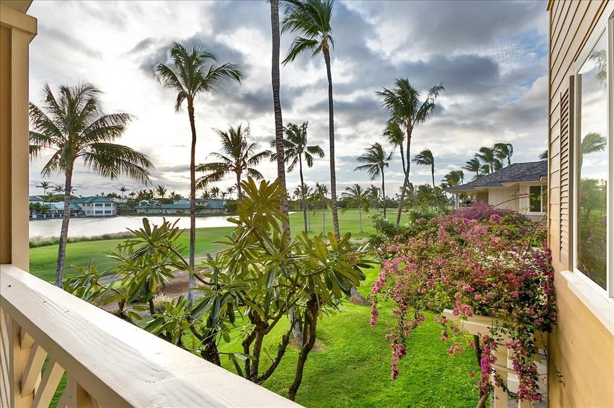 This elegantly furnished turnkey condo in the popular N building has everything you need to start enjoying your Hawaii life.  Enjoy gorgeous sunsets overlooking Kings Lake from your lanai.  Fairway Villas at Waikoloa Beach Resort is centrally located, just minutes away from the King's Shops and Queens' Marketplace which boast award winning restaurants, boutique shops and a luxury dine in movie theater.  The popular 'Anaeho'omalu Beach is also close by.