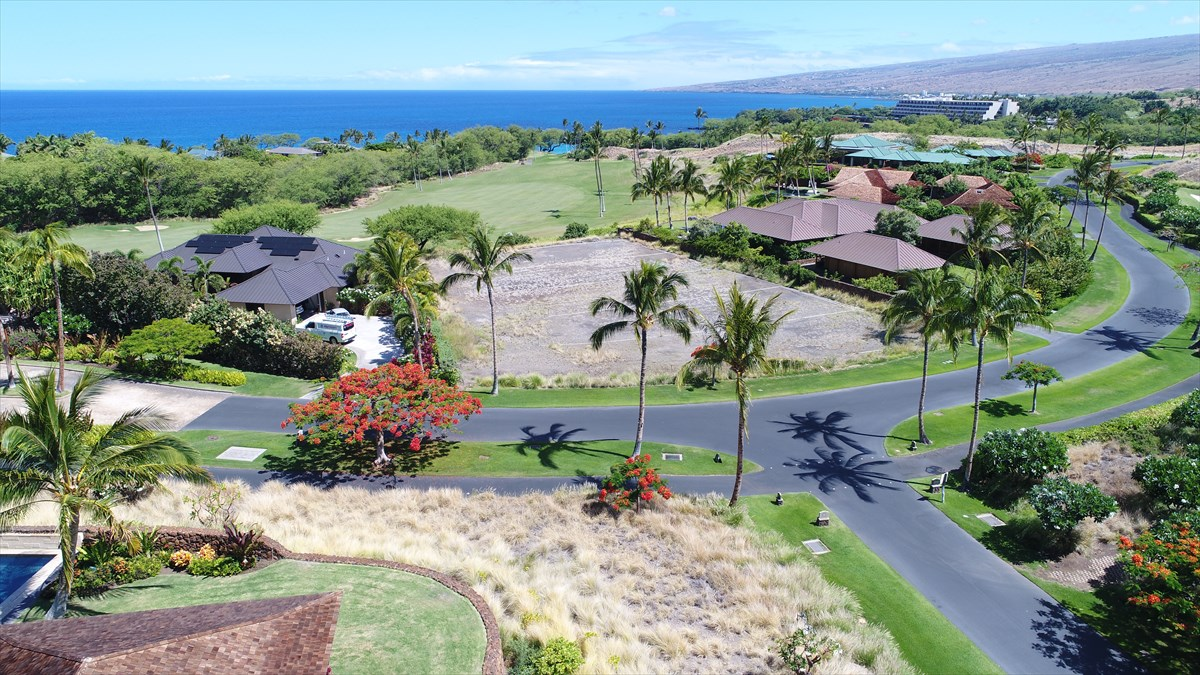 Kauna'oa Lot #2 is the best value view lot in this prestigious gated community. A level and ready to build golf course frontage lot overlooking the 12th Fairway of the Mauna Kea Golf Course providing fantastic golf and ocean views. Offering a buildable area of over half an acre, the lot provides the opportunity to build two stories should the Buyer elect to maximize views. The price includes home plans and renderings for a home designed by Paul Bleck AIA.Kauna'oa Lot #2 is located within easy walking distance to the World Class Kauna'oa Amenity Center with private pool, spa, fitness center, conference /meeting room and concierge services. The Kauna'oa Amenity Center overlooks the private Weiskopf designed Par 3 practice course which allows owners walk-on access with no tee times required.In addition to the on site amenities, owners will have the opportunity to join The Club at Mauna Kea which offers four different club participation levels to choose from. Whether it be Platinum, Gold, Mauna Kea Silver or Hapuna Silver there is a club package suited for all tastes.