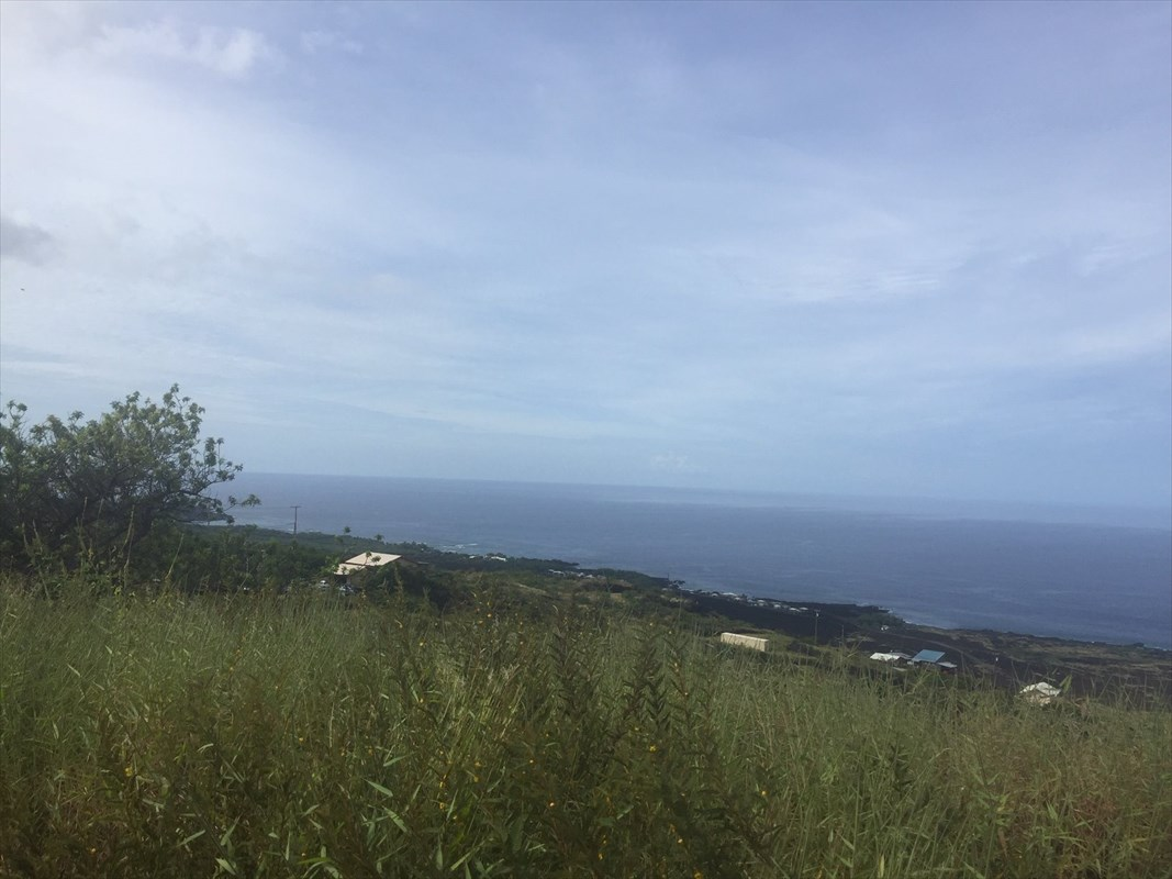 Complete unobstructed ocean views both North and South of Milolii. Absolutely stunning lot with a level building pad. Utility pole right near lot. Island Land Company and it's agents make every effort to confirm records and information however we do not make any guarantees. All buyers need to verify any information.