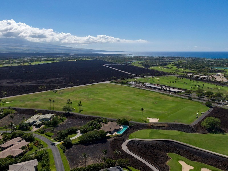 Champion Ridge 3: Create a special custom vacation home in this private, gated, mature, residential enclave in the heart of Mauna Lani Resort. Two-story home permitted, with the ocean, mountain, fairway, and sunset views.