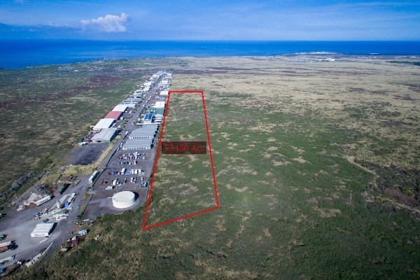 Development Site- Great Location with Great Potential! Located adjacent to the Kohanaiki Business Park - mid way between the Kona International Airport at Keahole and the Honokohau Harbor.  The Boundary Lines indicated on the photo are approximate and for illustration only, not a representation of a modern survey. The information herein may contain inaccuracies and is provided without warranty or guaranty of any kind. Agents and Buyers must independently verify any information they deem material or important to their purchase or any offered price there under. Please refer to the Title Report  for easements and setbacks.