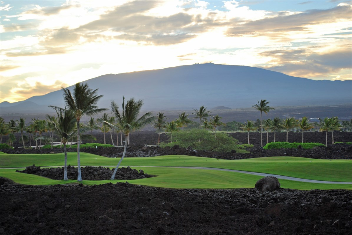 Don't miss this newly renovated ground floor successful vacation rental overlooking the 4th fairway of the famed Francis H. I'i Brown South Golf Course in the gated community of the Golf Villas at Mauna Lani Resort. Has Short Term Vacation Rental permit. O2 is an easterly facing 2-bedroom, 2-bathroom, turnkey furnished condo with numerous upgrades including renovated bathrooms, new stainless-steel appliances, and new washer and dryer. Master bathroom features large soaker tub, walk-in shower, two vessel sinks, and spacious walk-in closet. The kitchen boasts granite countertops, cherry cabinets, large u-shaped kitchen island, and separate dining area great for entertaining.The ground floor means no stairs and the outside lanai offers extra entertaining space with expansive views of beautiful Mauna Kea and Mauna Loa mountains. This unit is directly across the street from the onsite amenities including the fitness center, heated lagoon style pool, spa, and BBQ area. This unit is in excellent condition and includes a single-car, detached garage and deeded parking space.Mauna Lani owners have access to the private beach club perfect for swimming, snorkeling, paddle boarding, SCUBA diving or enjoying a meal at Napua Restaurant. Owners are eligible for membership to the Advantage Program that includes discounts on all golf and various shops and restaurants within the resort. The Golf Villas at Mauna Lani has undergone extensive updates to the property to include installation of new garage roll up doors, mahogany utility and pedestrian doors, mahogany shutters, new upper lanai railings and tile flooring, a new pool gate access system, new pool and spa decking, and new lighting throughout the property.Exceptional dining and shopping is close by at the Mauna Lani Auberge Resorts Collection (opening in Jan. 2020), the Fairmont Orchid, or the Shops at Mauna Lani.
