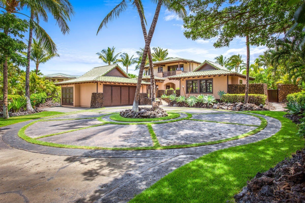 49 Black Sand Beach is an exclusive private residential community in the Mauna Lani Resort, home to Auberge Resort Collections newest hotel property. This tropical estate home has four bedrooms and five baths, including s detached guest hale, newly remodeled custom kitchen (Wolf, Sub-Zero and Miele appliances), spacious master bedrooms with soaking tubs and outdoor showers, granite countertops, stone/hardwood floors and mature landscaping.  Just 48 homeowners have access to the private oceanfront Beach Club complete with full time concierge, pool, spa, fitness, tennis, sauna, meeting room, kitchen, wine storage and canoe/kayak storage. NO short term rentals in this private gated community so come, relax, enjoy and call this home in Hawaii. Mauna Lani is also home to the Fairmont Orchid Hotel, two championship golf courses, a Sports & Fitness Club, shops, restaurants and grocery.